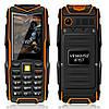 Land Rover f8  Противоударный телефон (Power Bank 8800mAh) Orange (черно-оранжевый)