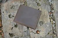 Мужской бумажник классика компакт 3008 (Коричневый)