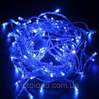 Гирлянда LED неон синяя 100 лампочек