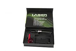 "Мощная лазерная указка 309 (red, green)+ насадка ""Звездное небо"" 6800 мАч"