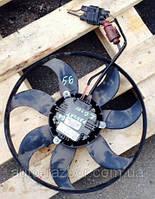 Вентилятор радиатора в сборе реостат VW Volkswagen (ФольксВаген)Passat B6 2.0 tdi 2005-2010