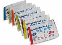 Камагра гель (Виагра), 7 вкусов / Kamagra Oral Jilly / 7 пакетов по 5 гр.