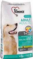 1st Choice Adult Light All Breed корм для взрослых собак низкокалорийный, 12 кг