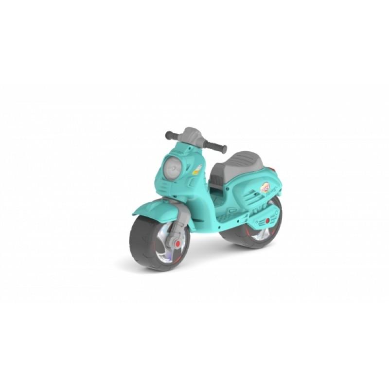 Скутер детский бирюзовый, 502Бирюз