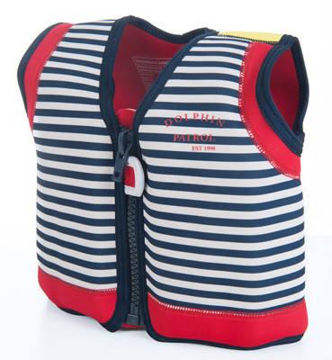 Плавательный жилет Konfidence Original Jacket, Цвет: Blue Stripe, M/ 4-5 г, фото 2