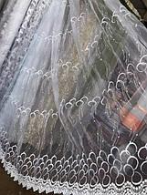 Тюль органза рисунок кольца опт 0-210, фото 3