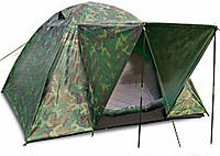 Палатка,четырех местная,4 местная,двухслойная,намет,с,козырьком