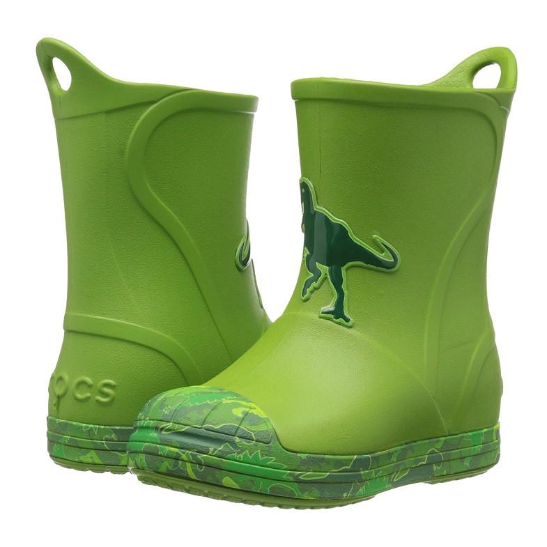 ... Сапоги резиновые детские Crocs Kids Bump It Graphic Rain Boot    дождевики с усиленным носком графика ... 94effb8e72ba3