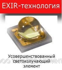 Технологии EXIR-подсветки для IP видеокамер