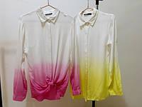 Блузка женская ГРАДИЕНТ в двух расцветках (штапель)  ,модная женская одежда