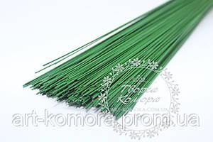 Проволока флористическая зеленая, 40 см. Толщина: 0,5 мм