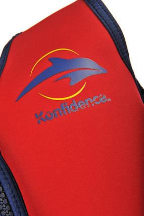 Плавательный жилет Konfidence Original Jacket, Цвет: Red/ Yellow, L/ 6-7 г, фото 2