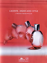 Lacoste Red Style In Play туалетная вода 125 ml. (Лакост Ред Стайл Ин Плей), фото 3