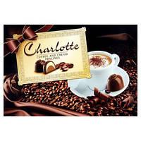 Шоколадные конфеты в коробке Charlotte Сoffee and Cream Pralines с пралине, 225 гр.