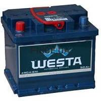 Автомобильный аккумулятор WESTA premium 50Ач 480А R