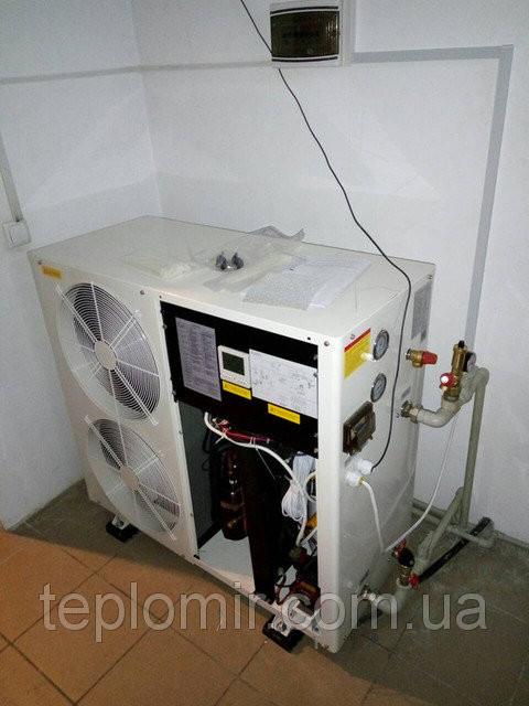 Шеф-монтаж теплового насоса TEPLOMIR HH07 для отопления,охлаждения и ГВС 2