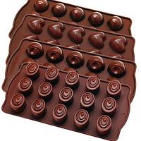Форма для льда и шоколада силикон 20055