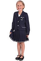 Школьная форма для девочки. Пиджак и сарафан