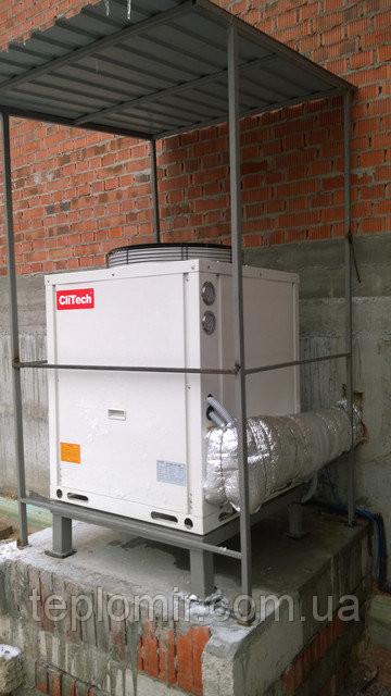 Тепловой насос CliTech CAR-24XB г.Днепр 1