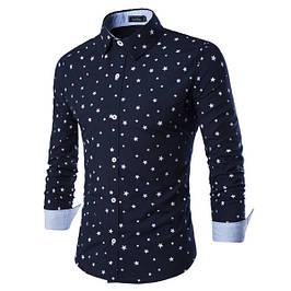 Чоловічі сорочки GISSI з довгим рукавом великого розміру батал