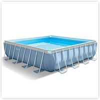 Бассейн каркасный Intex (26764) с фильтр-насосом 427х107 см.