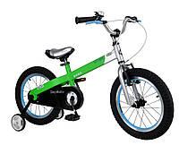 """Детский велосипед Royal Baby Buttons Steel 16"""".Цвет:красно-чёрный"""