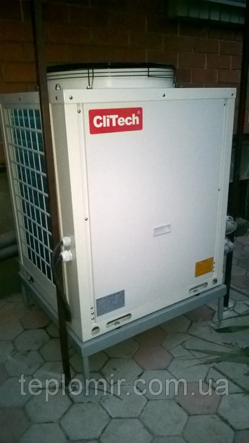 Тепловой насос CliTech CAR-20XB г.Днепр 1