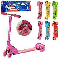 Самокат детский четырехколесный BB 4-001-2 Profi Trike