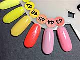Гель-лак Nice for you № 44 (нежно-розовый,холодный) 8.5 мл, фото 2