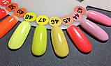 Гель-лак Nice for you № 44 (нежно-розовый,холодный) 8.5 мл, фото 4