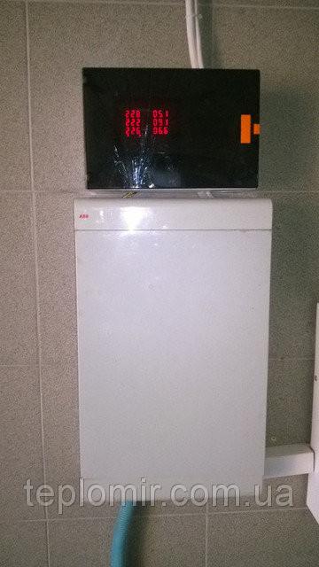 Монтаж теплового насоса CAR-12XB для отопления дома 2