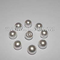 Пуговицы-жемчужины круглые 8 мм, белый (10 шт)