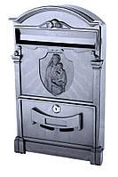 Почтовый ящик VITA цвет чёрный Дева Мария