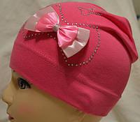 Детская шапочка, тонкая, трикотажная, для девочки .