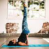 """Коврик для йоги """"BREATHE"""" YOGA MAT (5мм) американской фирмы Gaiam, фото 4"""