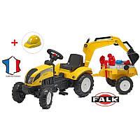 Детский трактор на педалях Falk 2055N RANCH TRAC