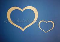 Сердце (маленькое) заготовка для декупажа и декора