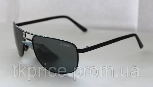 Мужские солнцезащитные очки Линза-стекло Baguan, фото 2