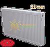 Радиатор стальной Sanica 11 тип 300х600