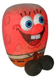 Травянчик декоративный Губка Боб, фото 2