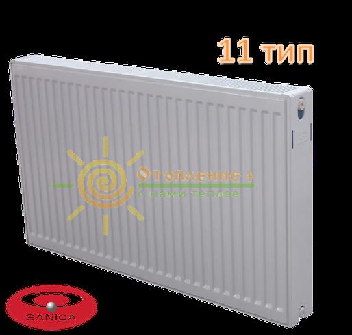 Радиатор стальной Sanica 11 тип 300х1100