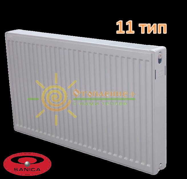 Радиатор стальной Sanica 11 тип 300х1300