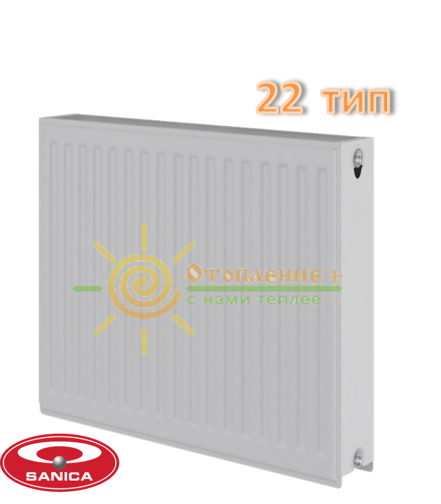 Радиатор стальной Sanica 22 тип 300х1600