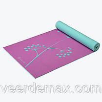 Коврик для йоги PREMIUM DANDELION DAYS YOGA MAT (5мм) американской фирмы Gaiam