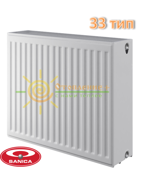 Радиатор стальной Sanica 33 тип 500х1700
