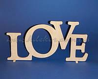 LOVE рамка для фото заготовка для декора