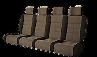 Авто диван-спальный трансформер «УНИВЕРСАЛ» (170) 4 местный для микроавтобуса
