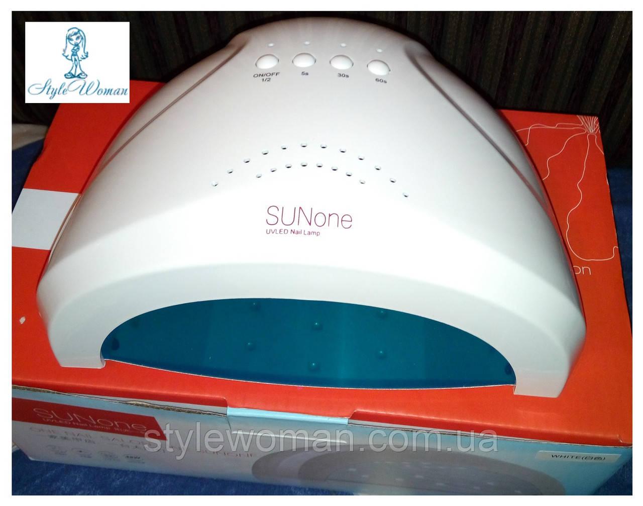 UV-LED Лампа SUN One 48W профессиональная лампа для сушки ногтей