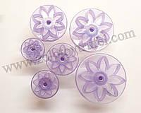 Набор кондитерских плунжеров «Маргаритки фиолетовые 6 шт.»