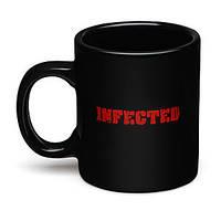 Чашка Зомби Инфицированный Infected Кружка, фото 1